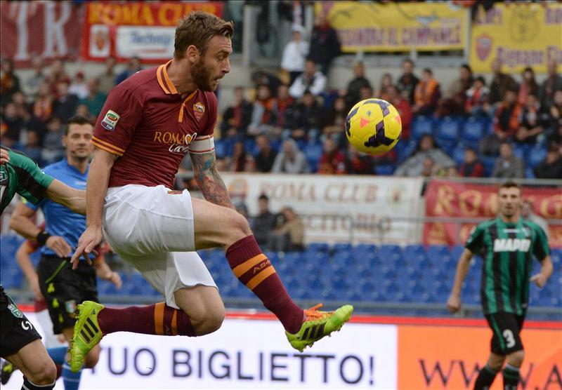 El Sassuolo frena al Roma en el torneo italiano de fútbol