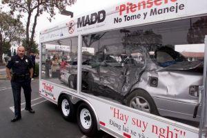 Organización apoya víctimas de conductores ebrios