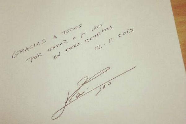 """La carta de Messi: """"Gracias a todos por estar a mi lado"""""""