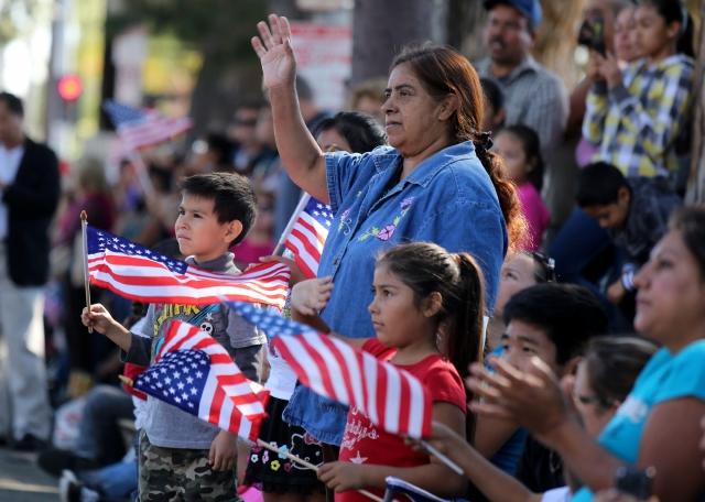 Desfile honra  a los   veteranos de guerra