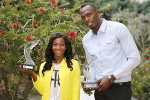 Bolt y  Shelly, atletas del año