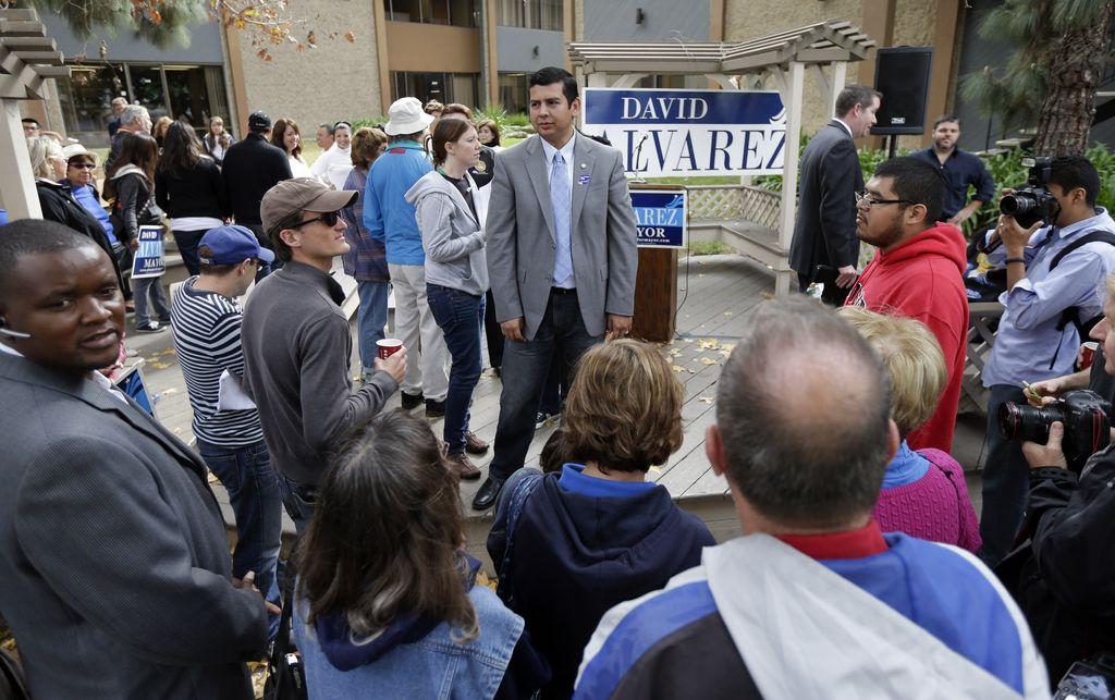 David Álvarez a segunda vuelta por alcaldía de San Diego