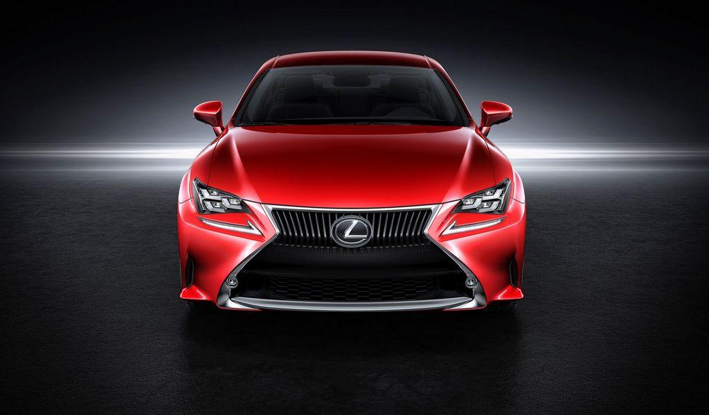 Lexus presentó la nueva RC en el autoshow de Tokio