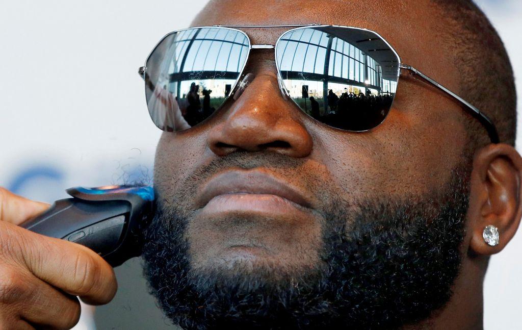 Las barbas del 'Big Papi' y Victorino serán subastadas