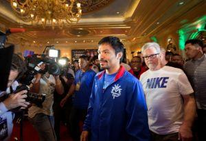 ¡Sólo fue un susto! Manny Pacquiao dio negativo a coronavirus, pero se mantendrá en cuarentena