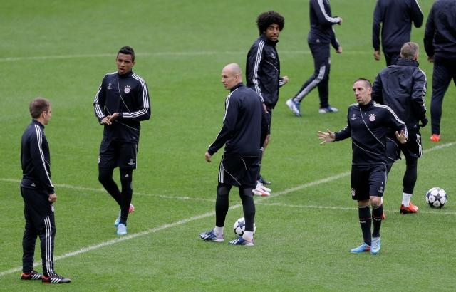 Ribery  no verá acción ante Borussia