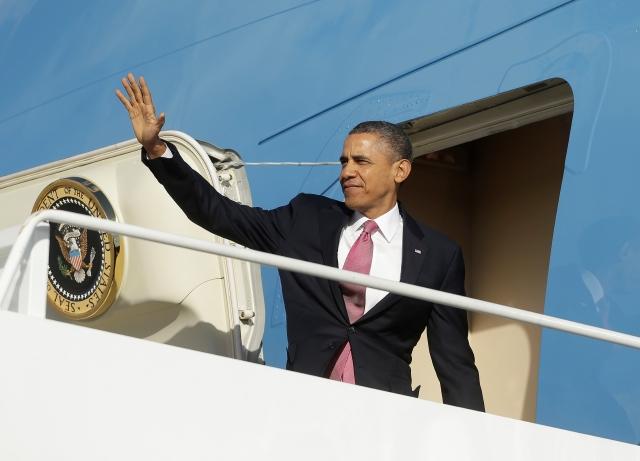 Advierten de embotellamientos por arribo de Obama a LA