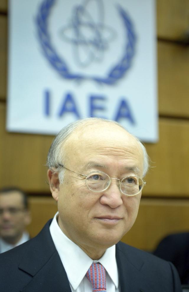 El director general del AIEA, Yukiya Amano.