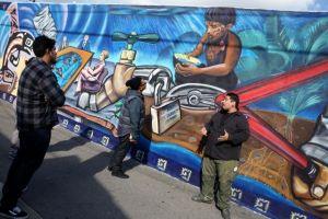 Artistas de Boyle Heights van de grafiteros a muralistas