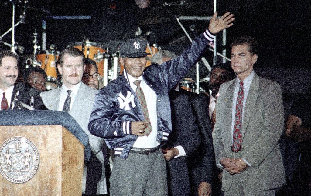 Un momento inolvidable para el Yankee Stadium original.