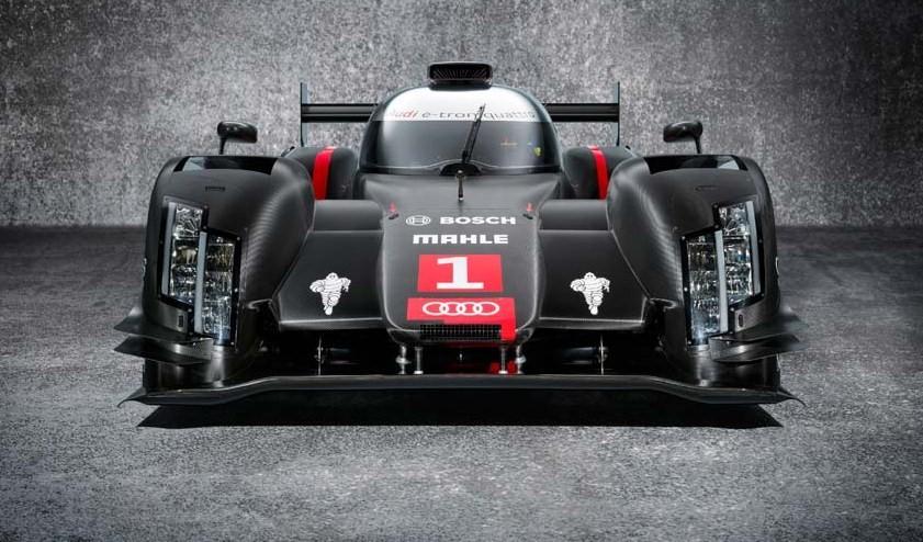 Audi testea su nuevo prototipo para Le Mans