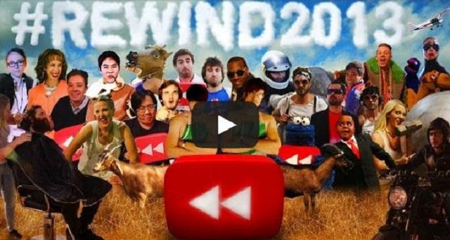 YouTube publica sus videos más vistos en 2013