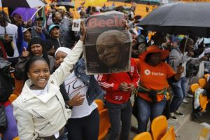 Rinden gran homenaje a  Mandela