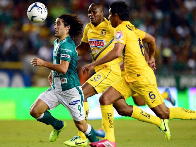 León vs. América. Final de IDA del fútbol mexicano
