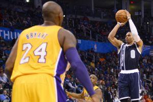 Ahora el Thunder arrolla a Lakers