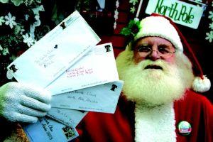 Millones de cartas para Santa Claus, Papa Noel y Reyes Magos