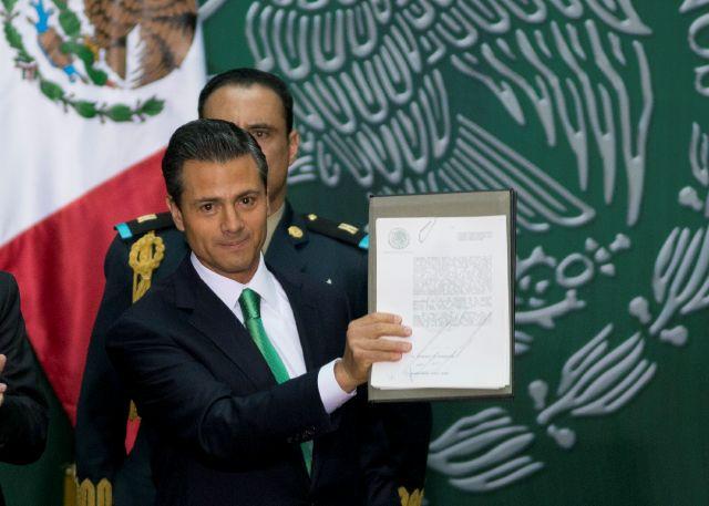 Promulga Peña Nieto la Reforma Energética