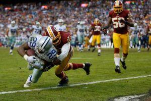 Cowboys vence a Redskins con pase de último minuto
