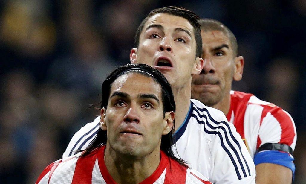 Falcao le daría el Balón de Oro a Cristiano Ronaldo