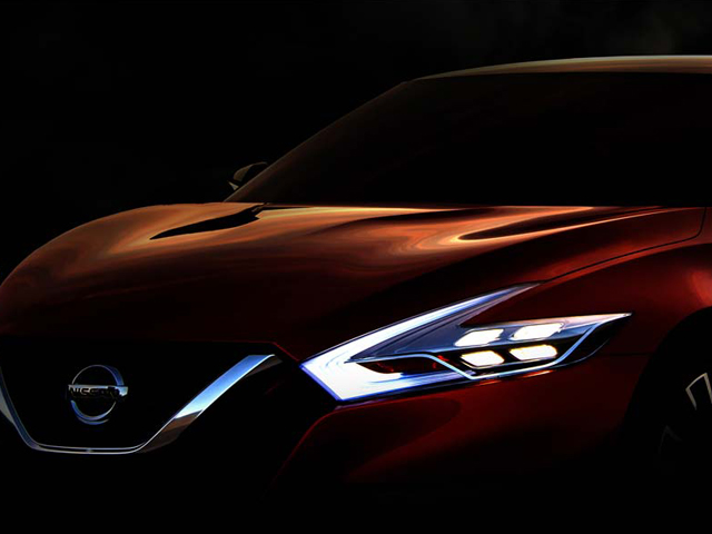 Un vistazo al Sport Sedan Concept de Nissan