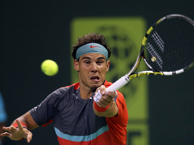 Rafael Nadal avanza a semifinales en Catar