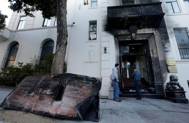 Incendio en consulado chino en San Francisco fue intencional
