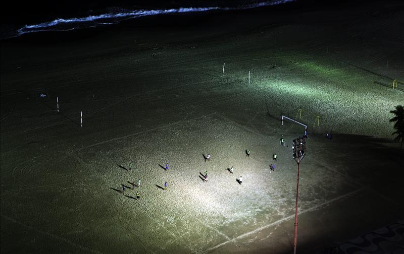Brasil y Argentina definirán el título de la Copa América de Fútbol Playa
