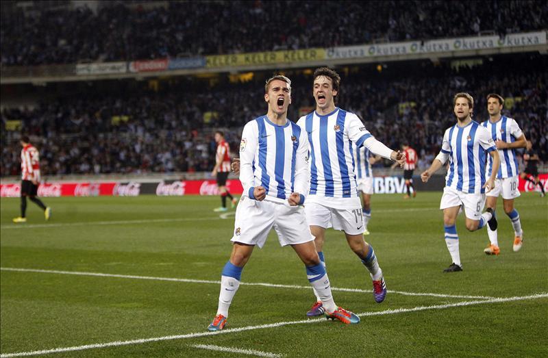 La Real Sociedad vence al Athletic de Bilbao