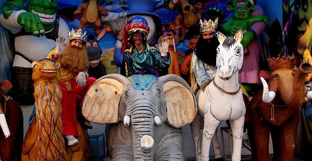 Los Reyes Magos llegan este lunes para todos