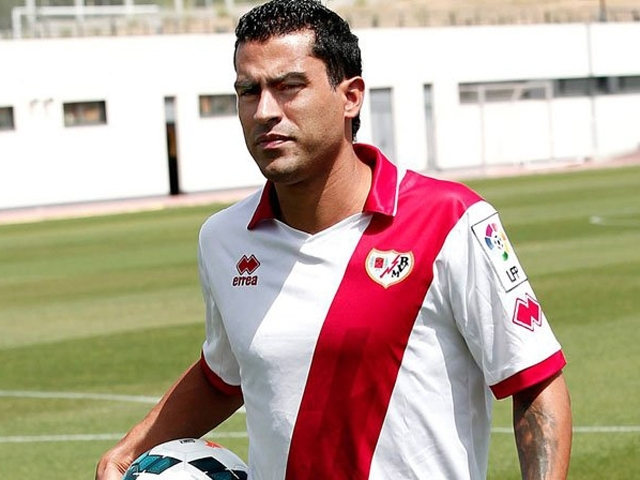 Nery Castillo anota doblete en la derrota del Rayo Vallecano (VIDEO)