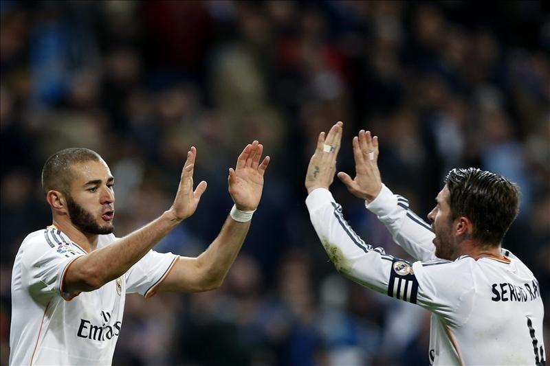 Real Madrid inicia el 2014 derrotando al Celta de Vigo