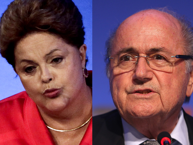Dilma Rousseff, presidenta de Brasil, refuta tweets de Joseph Blatter