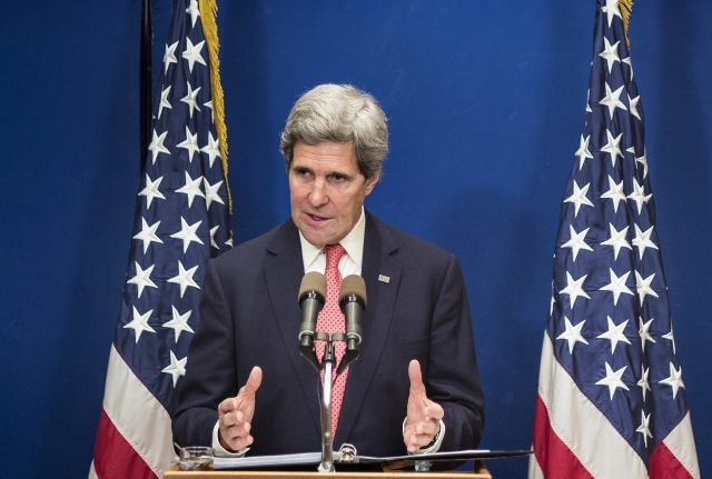 John Kerry busca la   paz en Medio Oriente