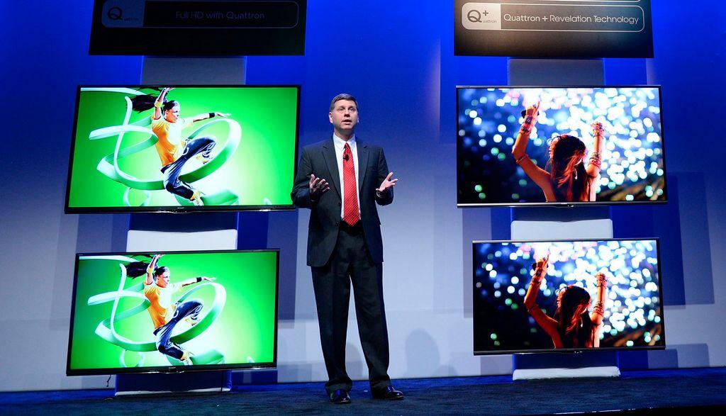 CES presenta en Las Vegas lo último sobre televisores (video)