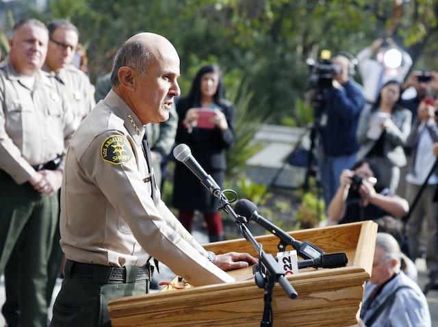 Lee Baca se retira como Sheriff de Los Ángeles