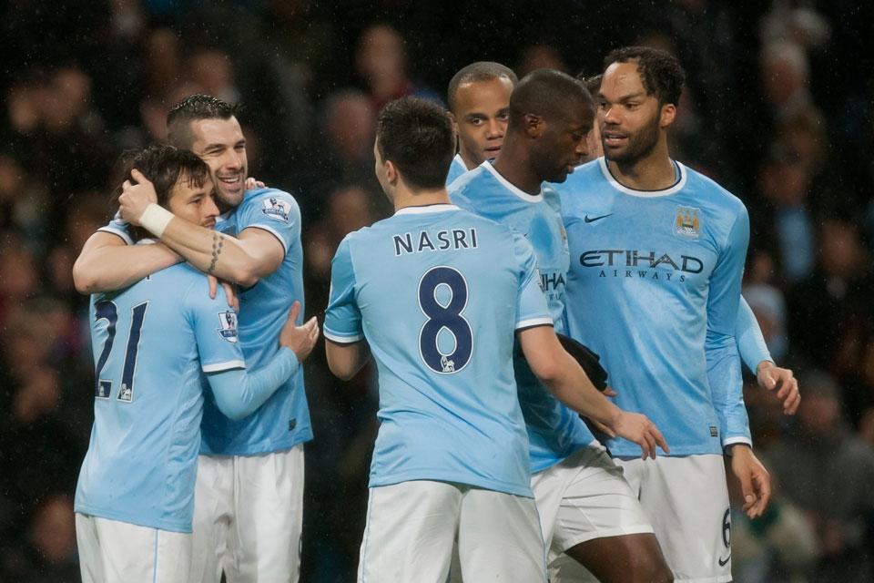 Manchester City goleó y tiene un pie en la final de la Copa (Video)