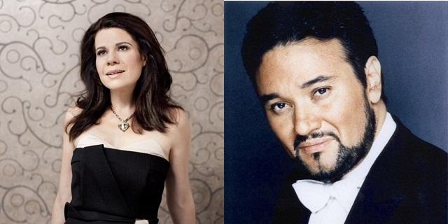 Ana María Martínez y Ramón Vargas unen sus voces en LA