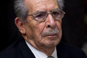Ríos Montt no será juzgado por matanza de indígenas