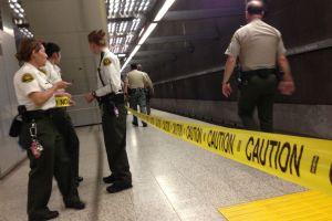 Pasajero de Metro acuchillado en Línea Roja