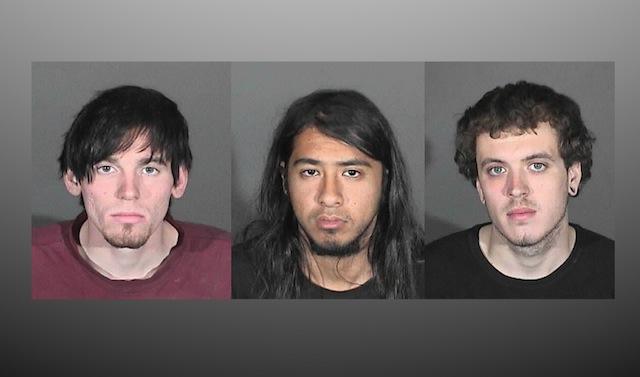 Arrestan a 3 por incendio en Glendora