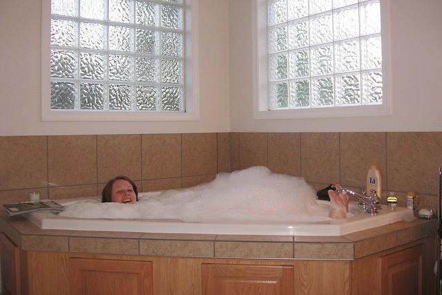 No hay mejor manera de terminar la semana que tomar un baño relajante.