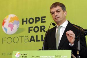 Jerome Champagne lanza candidatura a la FIFA