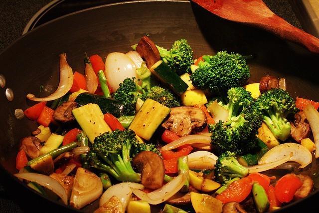 Chop suey de cerdo rápido y sabroso