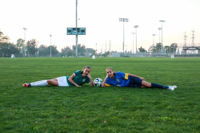 Hermanas en casa… Y 'rivales' en el Mundial