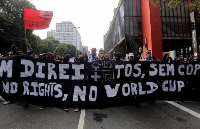 Salen a protestar