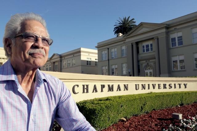Ruebén Martínez es ahora Presidential Fellow en la Chapman University.