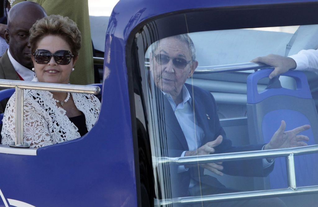 Brasil y Cuba estrechan sus relaciones bilaterales.