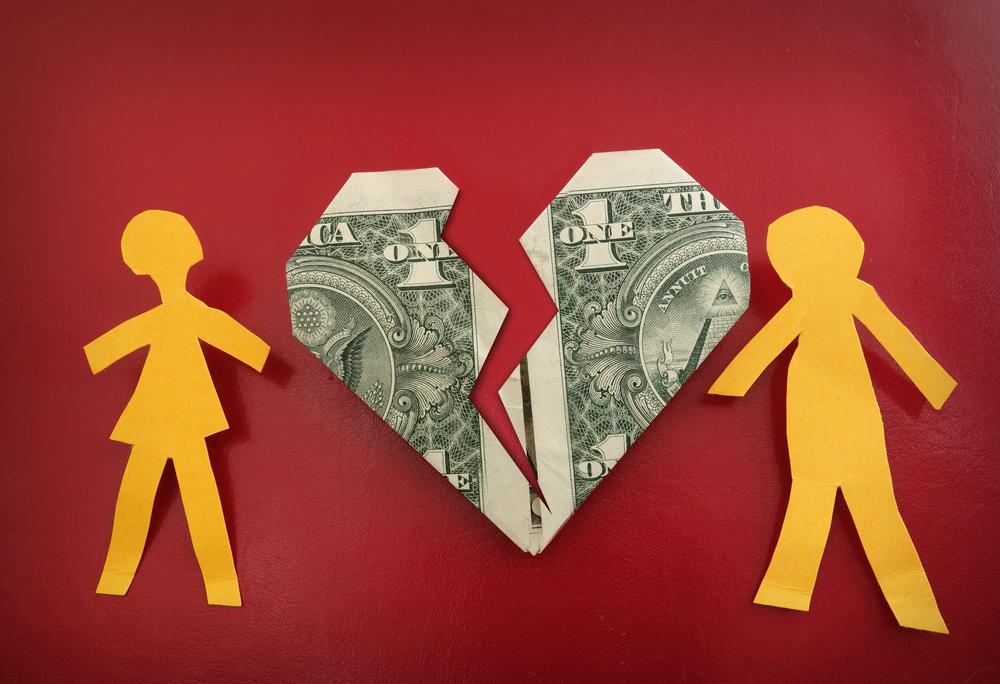 El dinero en la pareja es uno de los problemas más comunes.