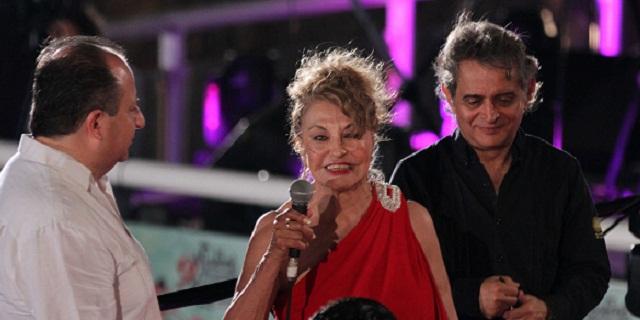 La actriz mexicana recordó su aventura romántica, durante el Festival Internacional de Cine en Acapulco.