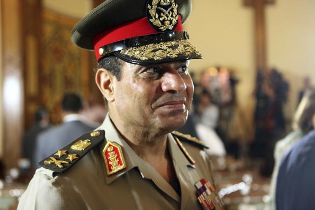 El jefe del Ejército egipcio y ministro de Defensa, Abdel Fatah al Sisi, goza de gran popularidad en Egipto.